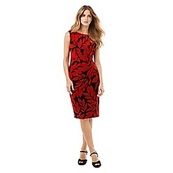 Phase Eight - Leaf Print Dress