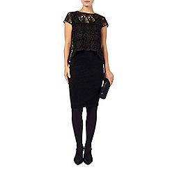 Phase Eight - Lexus lace knit dress