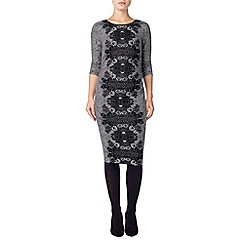 Phase Eight - Jaida placement jacquard dress