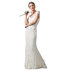 Phase Eight - Cream Amelie Tapework Wedding Dress