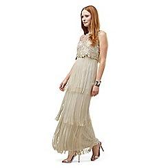 Phase Eight - Lucille Petite Fringe Full Length Dress