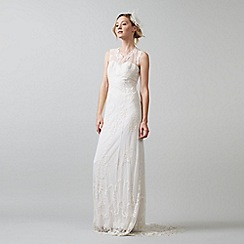 Phase Eight - Ivory oriana embroidered wedding dress