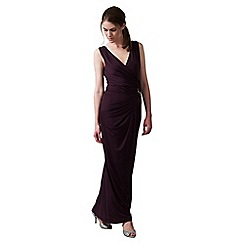 Phase Eight - Grape eva full length dress