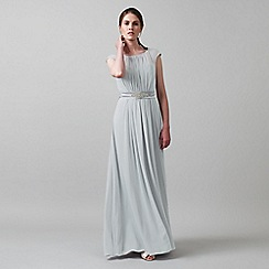 Phase Eight - Dusty Mint rowena belted full length dress