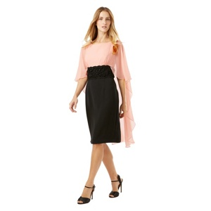 Phase Eight Black and Pink dress eleven