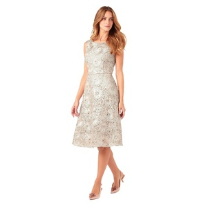 Phase Eight Champagne Dress Ten