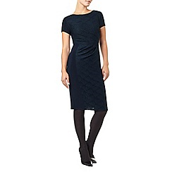 Phase Eight - Blue Allesandra Textured Dress