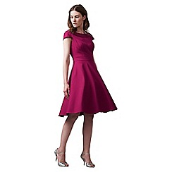 Phase Eight - Pink Nicola Fit and Flare Dress