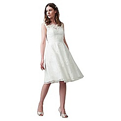 Phase Eight - Ivory selma lace wedding dress