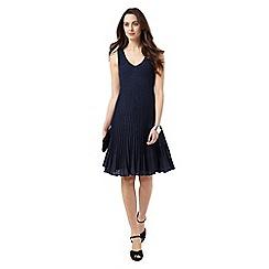 Phase Eight - Petra Pleat Knit Dress
