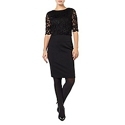 Phase Eight - Black Chelle Lace Dress