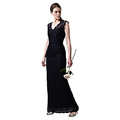 Phase Eight - Navy Savannah Lace Full Length Dress