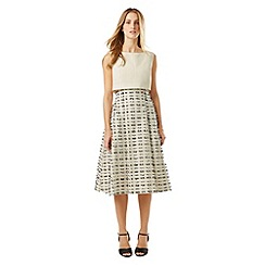 Phase Eight - Ivory and Black dress seven