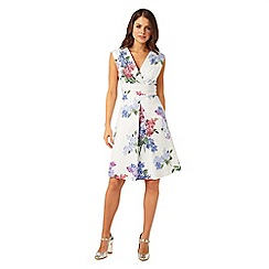Phase Eight - Multi-Coloured Lilac Flower Dress