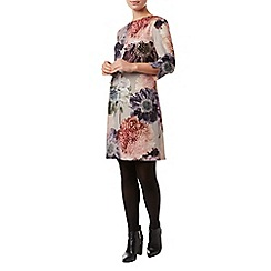 Phase Eight - Multi-coloured deena digital floral tunic dress