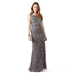 Phase Eight - Silver antibes embellished dress