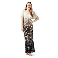Phase Eight - Bronze contina embellised dress