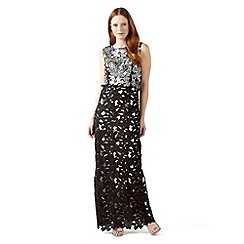 Phase Eight - Black and Pewter candy embellished dress