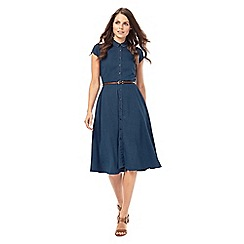 Phase Eight - Sophie Denim Chambray Dress
