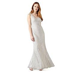 Phase Eight - White gladys sunray dress