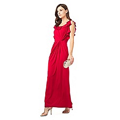 Phase Eight - Laurita Frill Sleeve Maxi Dress