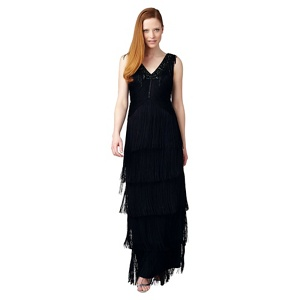 Phase Eight Collection 8 Sable Fringe Dress
