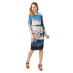 Phase Eight - Landscape Print Dress