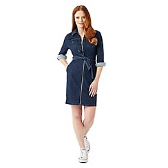 Phase Eight - Annabelle Zip Denim Dress