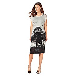 Phase Eight - Carlotta Tree Print Midi Dress