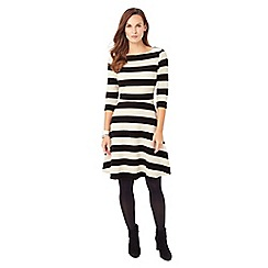 Phase Eight - Stripe Ottoman Dress