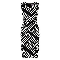 Phase Eight - Caroline Structured Stripe Dress
