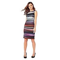 Phase Eight - Stripe Scuba Dress