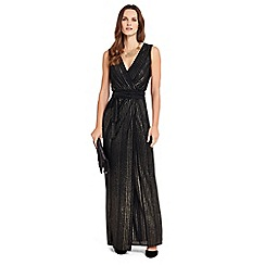 Phase Eight - Stripe Wrap Maxi Dress