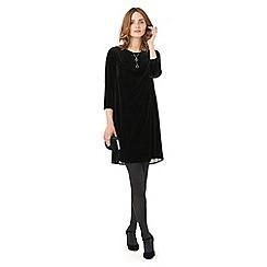 Phase Eight - Pia Pleat Back Velvet Dress