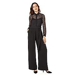 Phase Eight - Lace Shirt Jumpsuit