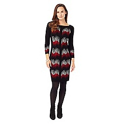 Phase Eight - Zarah Zig Zag Knit Dress