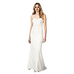 Phase Eight - Cream carinne wedding dress