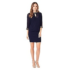 Phase Eight - Emily Embellished Cut Neck Blouson Dress