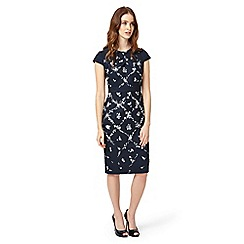 Phase Eight - Navy Dionne Print Dress