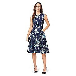 Phase Eight - Blue darla floral dress