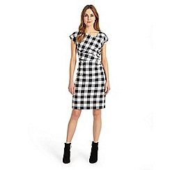 Phase Eight - Navy and Ivory 'Jadyn' check dress