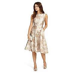 Phase Eight - Cream danica jacquard dress