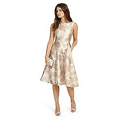 Phase Eight - Cream danica jacquard dress