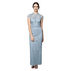 Phase Eight - Blue ramona lace full length dress