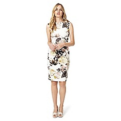 Phase Eight - Cream Mayumi Print Dress