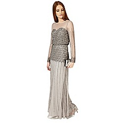 Phase Eight - Metallic Enya maxi dress