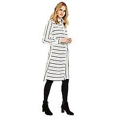 Phase Eight - Naia stripe shirt dress