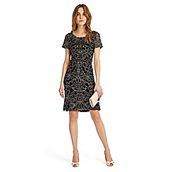 Phase Eight - Debenhams Exclusive - Black 'Taya' dress