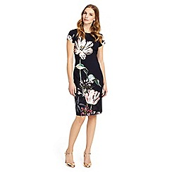 Phase Eight - Multi-coloured marguerite print dress