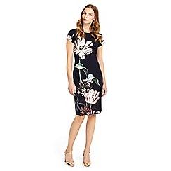 Phase Eight - Multi-coloured marguerite print dress